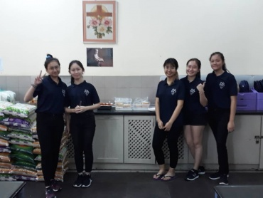 Sunway University students provided a delicious breakfast!